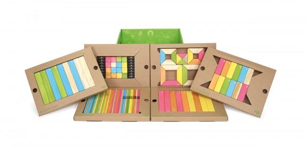 TEGU 130tlg. Magnet-Holzbausteine Set Tints