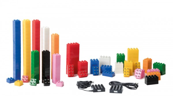 LIGHT STAX® JUNIOR Maxi-Set mit 180 LED (DUPLO-kompatibel)