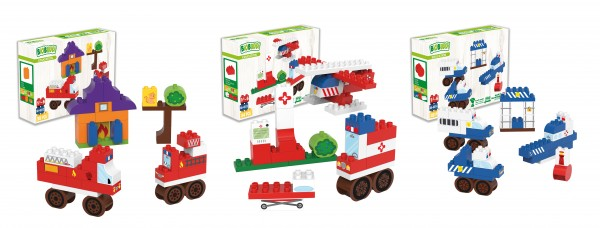 BiOBUDDi Set Einsatzfahrzeuge