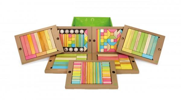 TEGU 240tlg. Magnet-Holzbausteine Set Tints