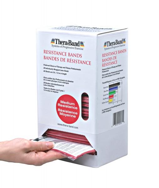 THERABAND Dispenser medium/rot