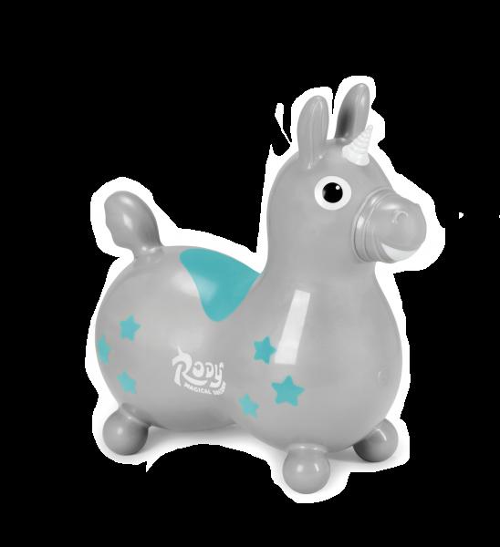 Rody Magical Unicorn Silver Grey