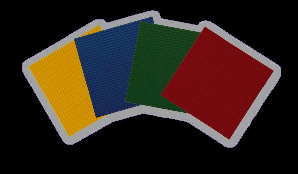 Basisplatte groß, 4er-Set Basic