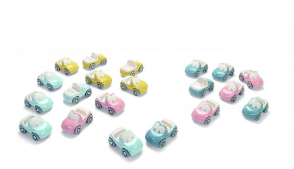 tiny BIO FunCars Set - 20 Autos